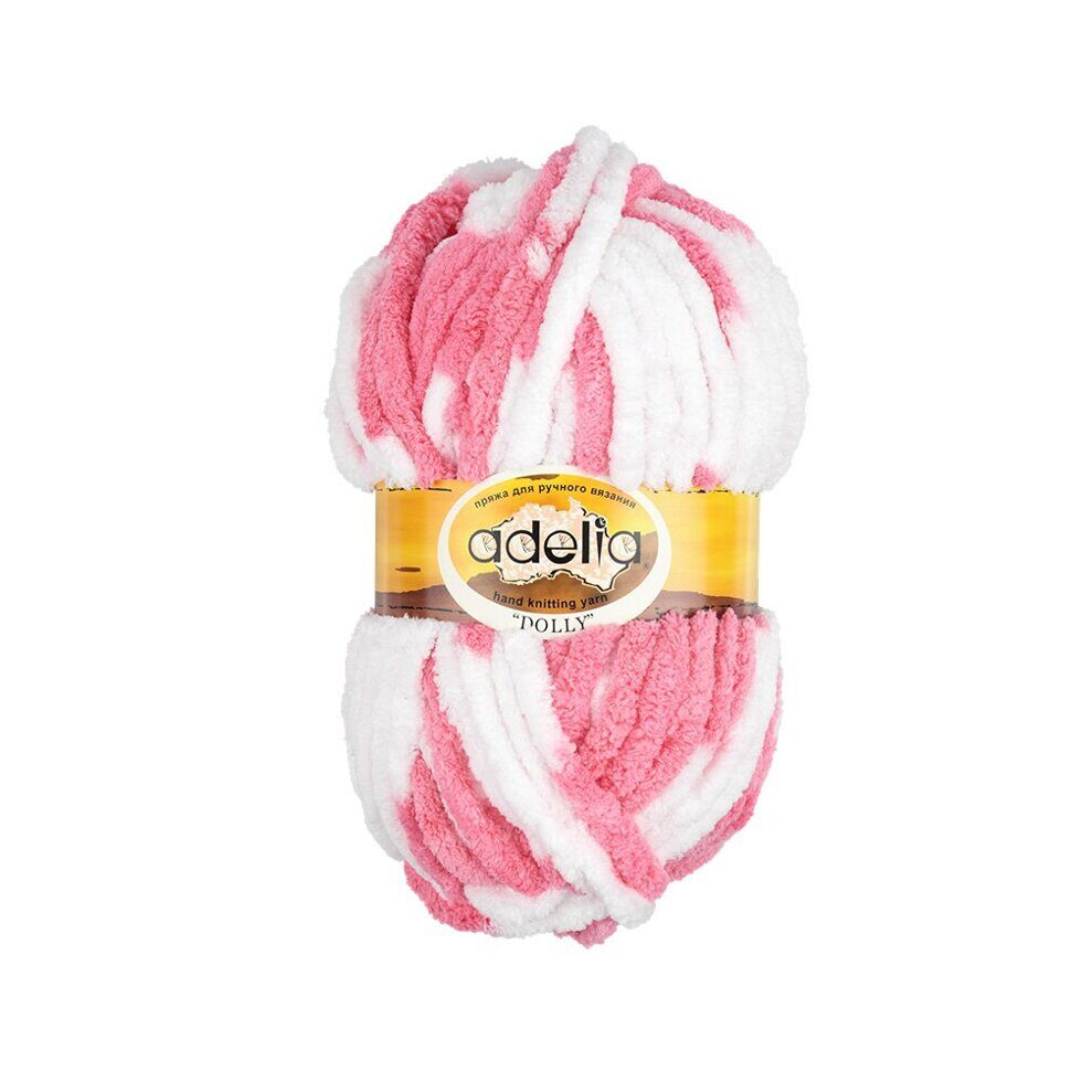 "Пряжа ADELIA ""DOLLY""   100\% полиэстер   100 г  40 м ± 3 м"